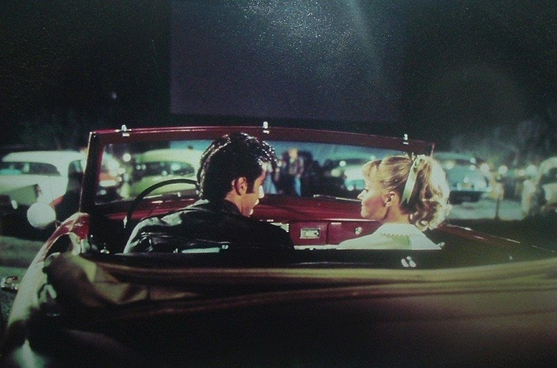 Scena Del Drive In In Grease