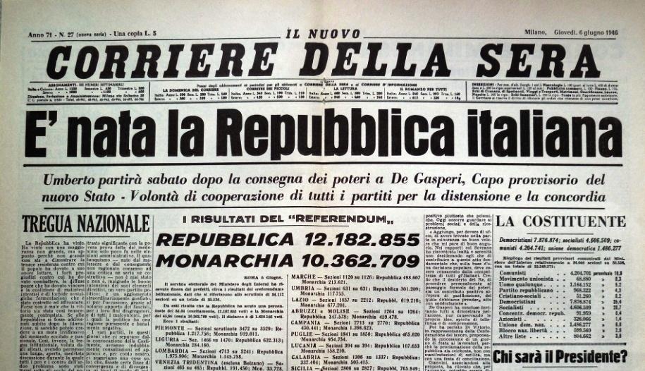 Festa Della Repubblica Referendum