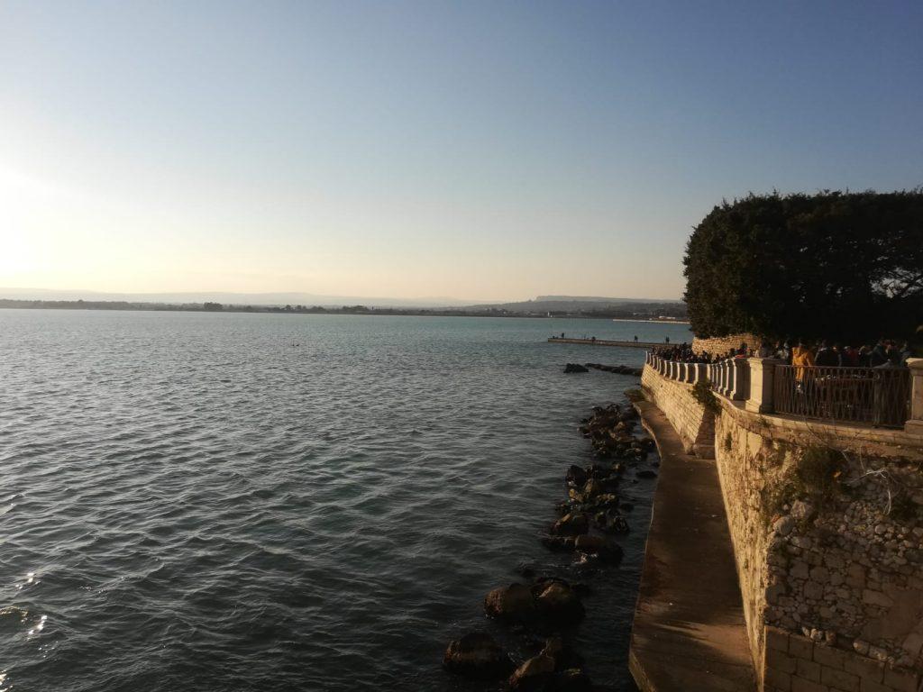 Vista della Marina di Ortigia
