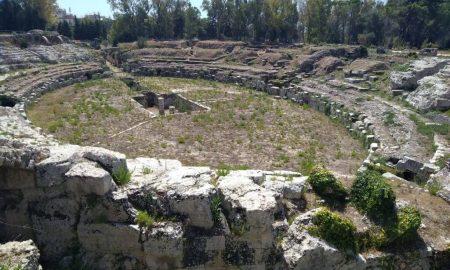 Anfiteatro Romano Siracusa Resti