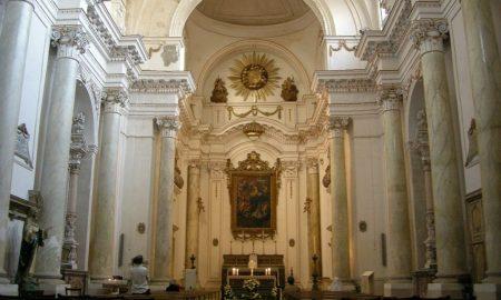 Interno Chiesa Di Santa Maria Della Concezione