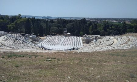 Teatro Greco, vista dall'alto
