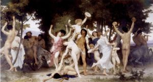 Rappresentazioni classiche, La Giovinezza Di Bacco 1884