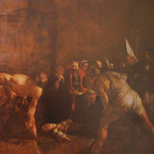 Caravaggio. Seppellimento di santa Lucia (dal testo Caravaggio in Sicilia, Sellerio ed.1985)