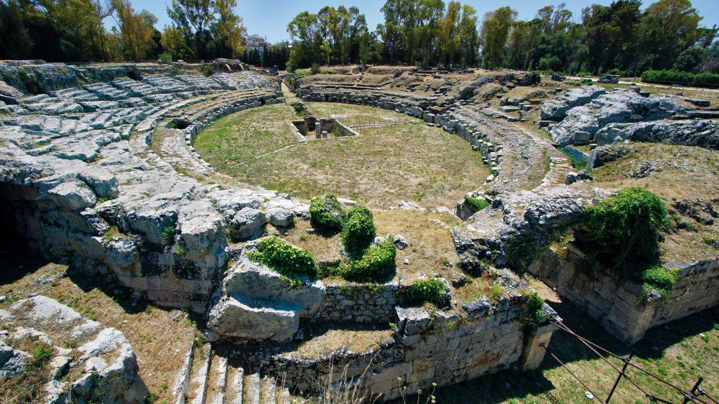 Anfiteatro Romano Sr © Regione Siciliana Ph.giuseppe Mineo