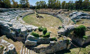 Progetto saraceno Anfiteatro Romano Sr © Regione Siciliana Ph.giuseppe Mineo