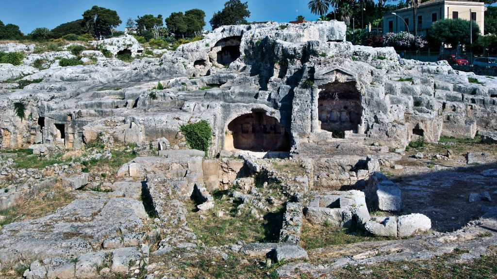 Tomba Archimede © Regione Siciliana Ph.giuseppe Mineo