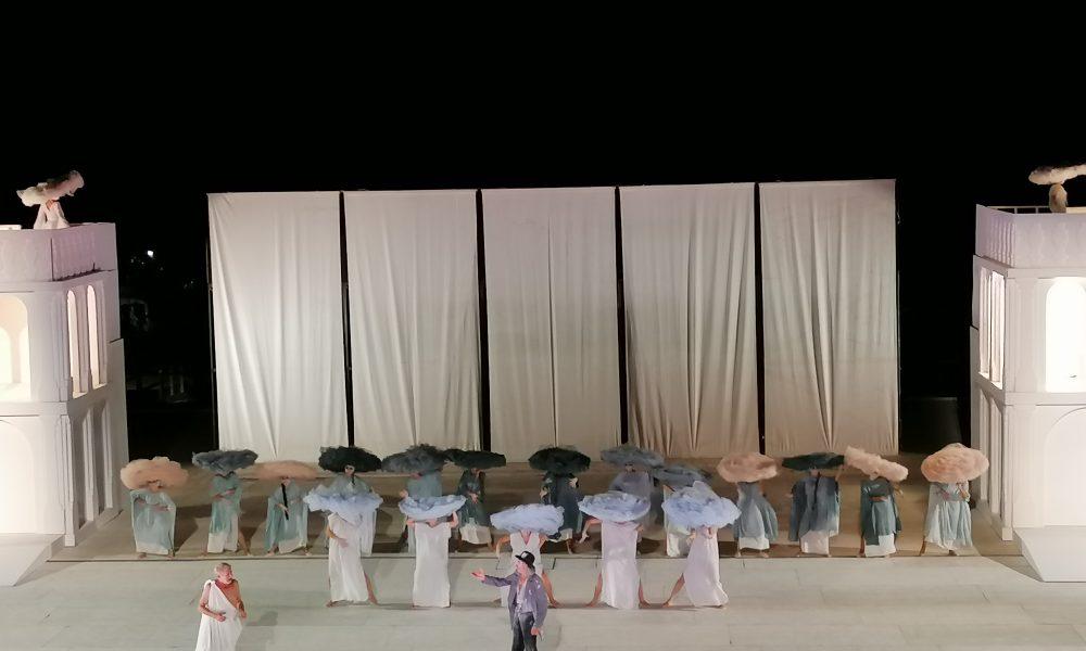 Gli Attori Fassari E Paone Al Teatro Greco