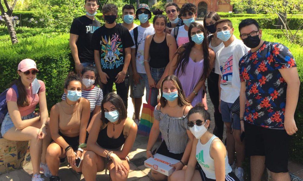 Gli Studenti Dell'istituto Einaudi A Siviglia