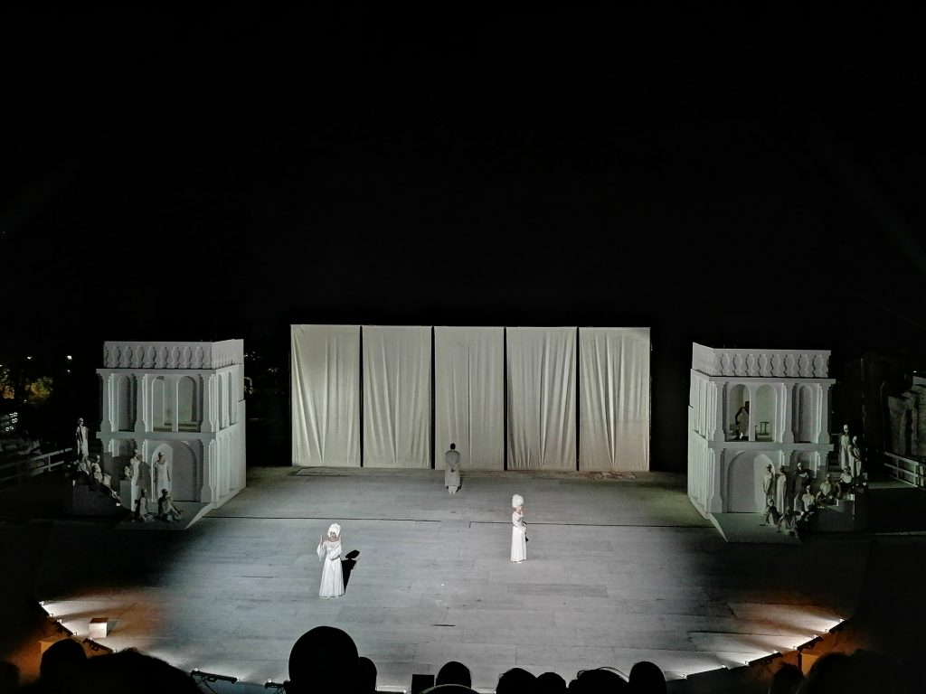 Le corifee al teatro greco
