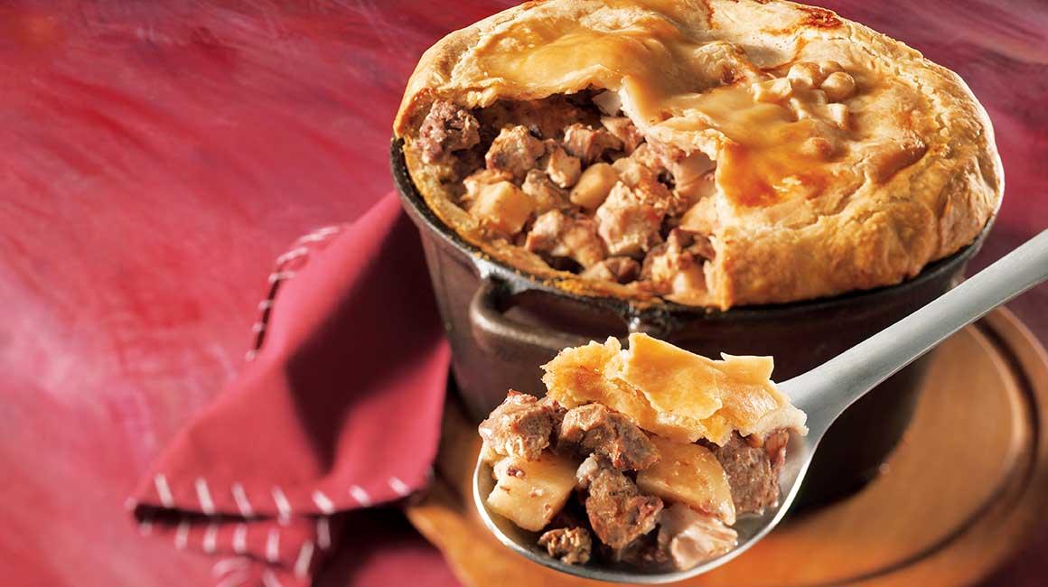 La Tourtiere, tipico piatto canadese dal gusto deciso