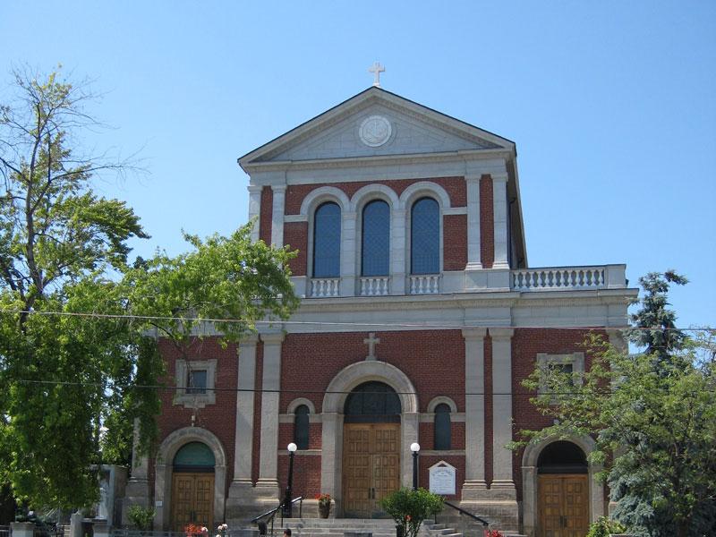 St. Clare S Church Facciata Principale