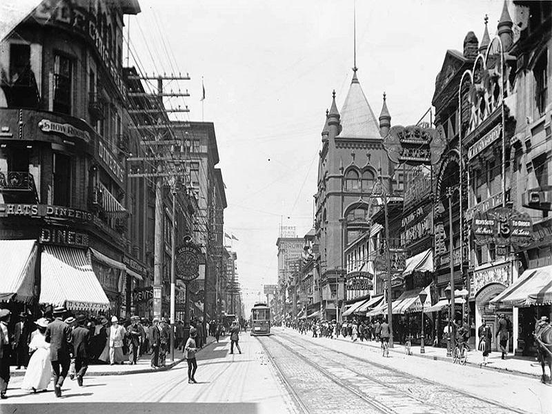 Yonge Street, via più famosa di Toronto