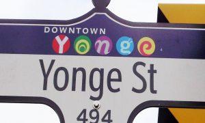 Yonge Street, via di Toronto