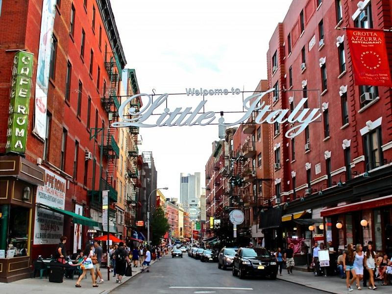 Ma Sei Italiano. L'accesso al quartiere Little Italy