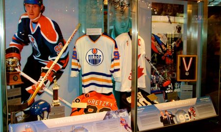 Hockey Hall Of Fame Di Toronto - una sala interna del museo