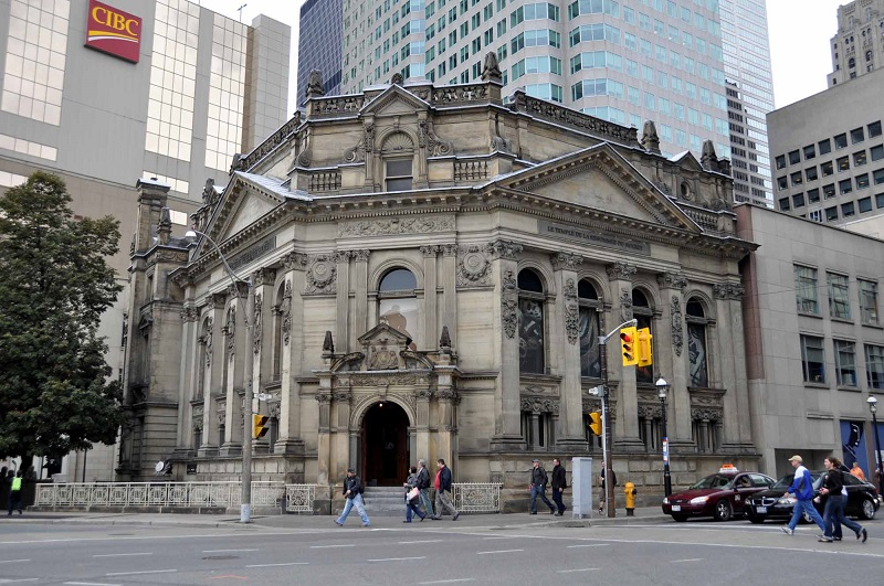 Hockey Hall Of Fame Di Toronto - Edificio