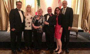 Cittadino Italo Canadese Dell'Anno durante Consegna Premio