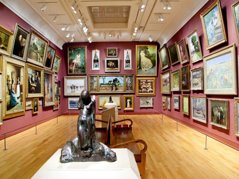 Art of gallery, sala di un museo