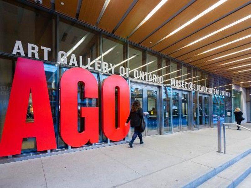Art of gallery, AGO a Toronto