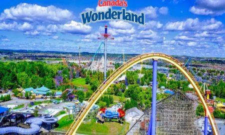 Canadas Wonderland, il parco divertimento a Toronto