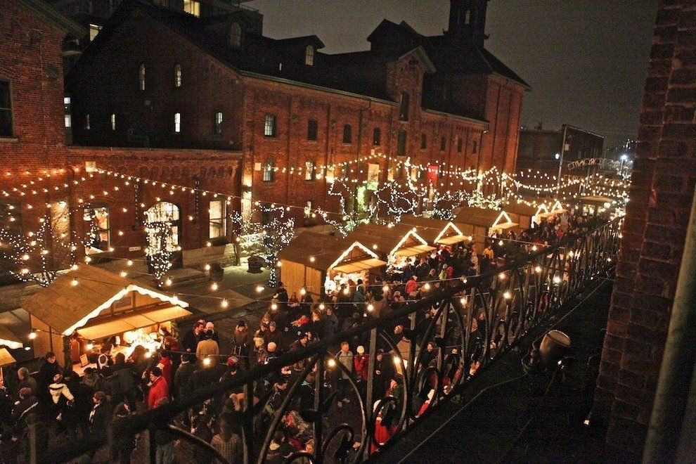 Distillery District - Toronto Christmas Market