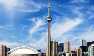 Edifici Piu Alti al primo posto Cn Tower