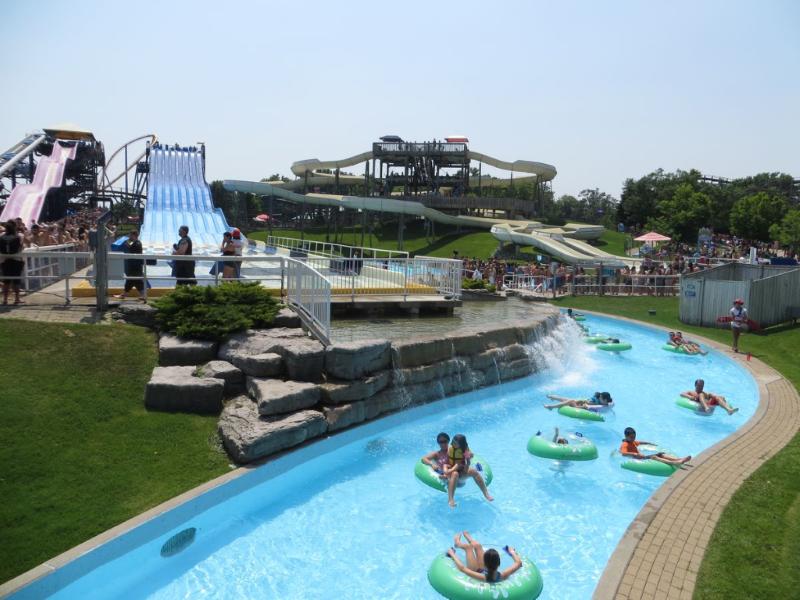 Splash Works, il parco acquatico nel Canada's Wonderland