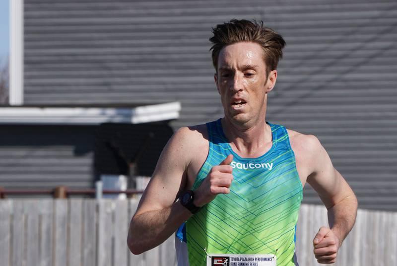David Freake, vincitore della scorsa edizione della Toronto Marathon