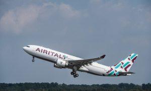 Volo: l'Airbus di AirItaly