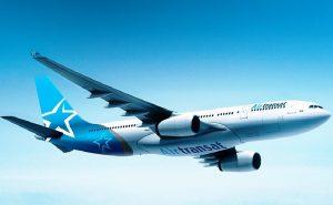 Foto di un A330 Air Transat