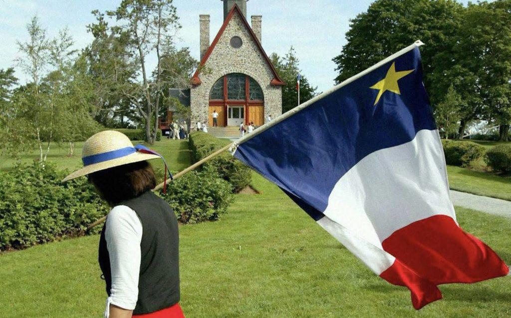 National Acadian Day è una festa nazionale dove si sventolano le bandiere del gruppo etnico
