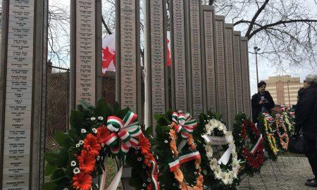 Italian Fallen Workers Memorial Of Ontario