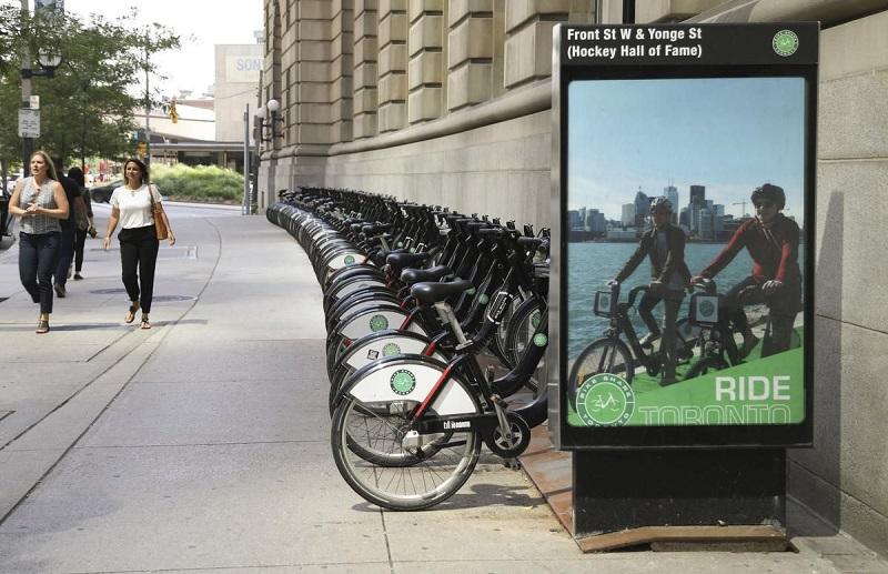muoversi - Una Piazzola Per Il Bike Sharing A Toronto