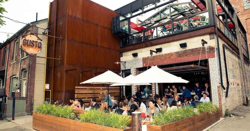 Gusto 101 tra i ristoranti italiani a Toronto