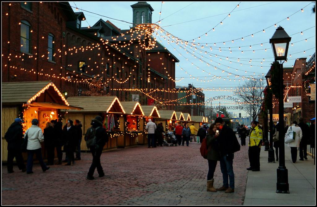 Toronto Christmas Market Di Giorno