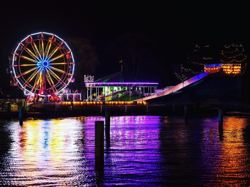 Aurora winter festival: ruota panoramica