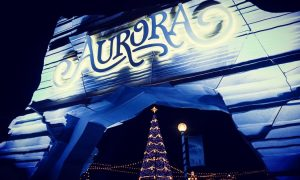 Ingresso dell'Aurora winter festival