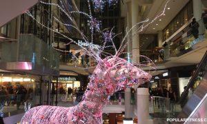 Shopping natalizio All'Eaton
