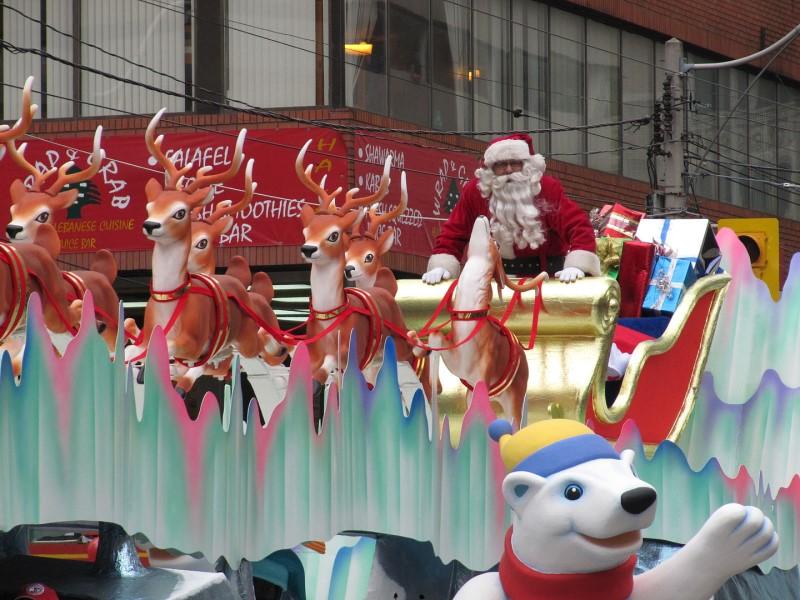 Parata di Babbo Natale