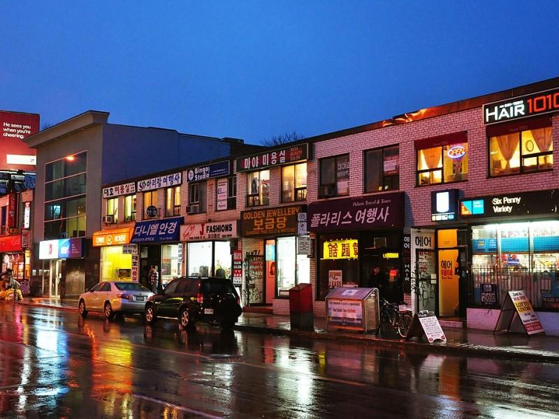 Il quartiere di Koreatown