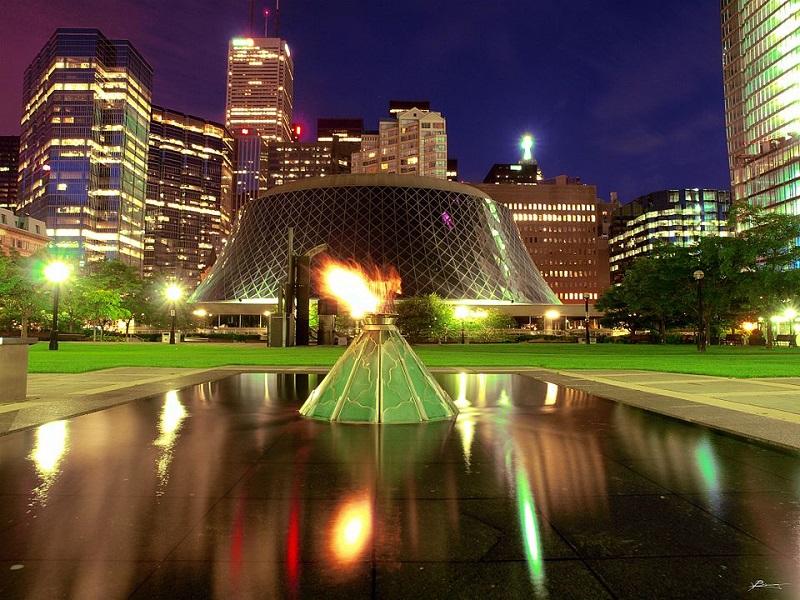 pecaut square: Flame Toronto
