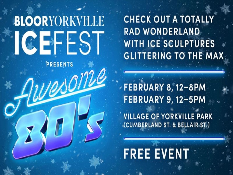 due eventi: bloor workville Icefest
