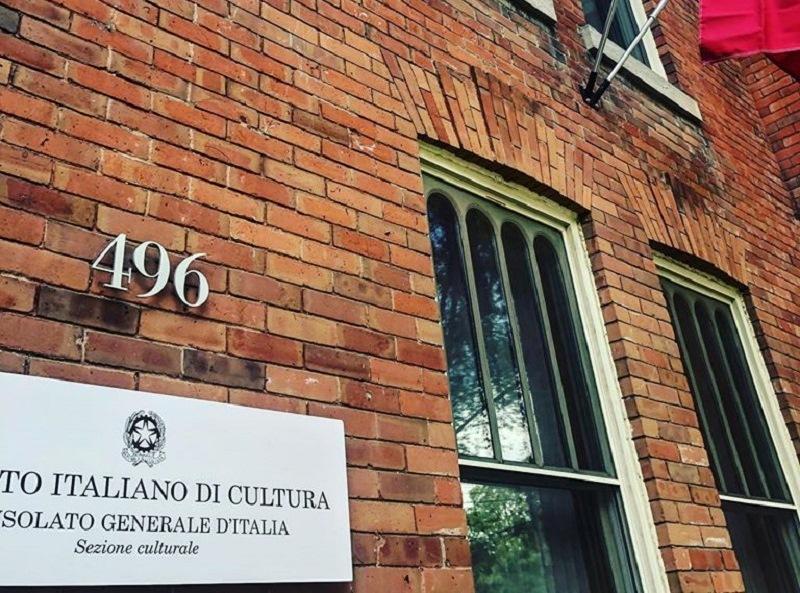 istituto italiano di cultura a Toronto