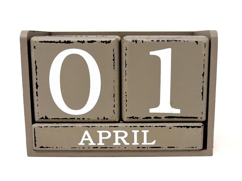 April day: pesce d'aprile