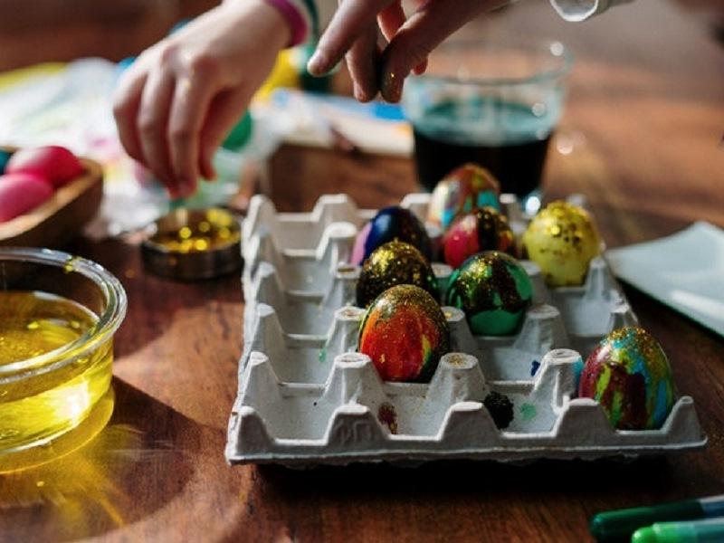 La decorazione delle uova