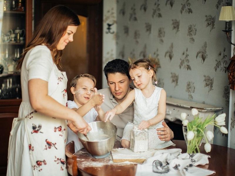 Preparazione in famiglia