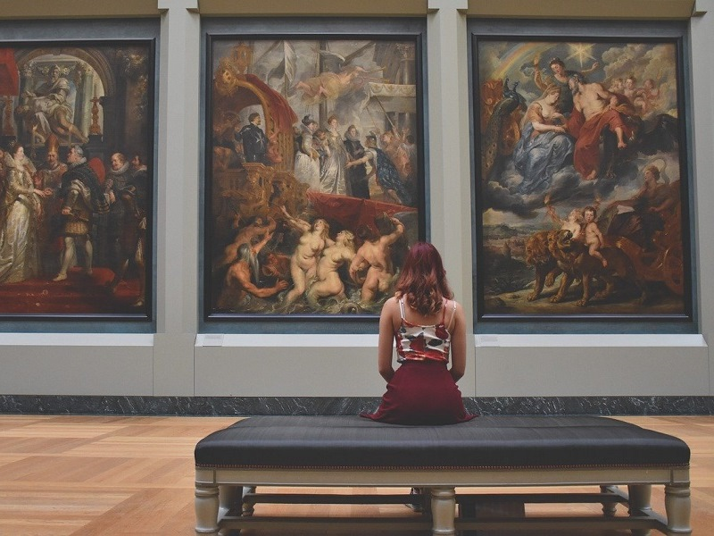 Donna nel museo - International Museum Day