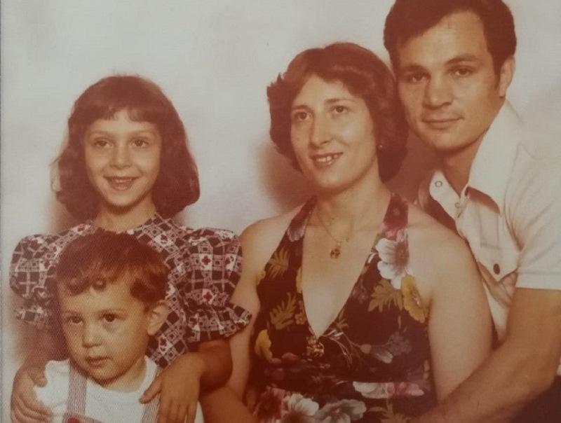 Emilia e la sua famiglia