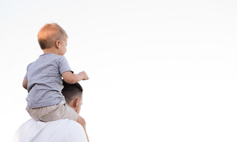 festa del papà: padre e figlio